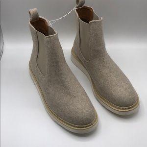 9.5 Women Universal Thread Grey Ankle Boot dawn